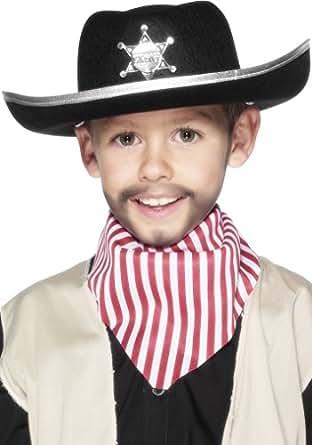 Smiffys 99729 Special Sheriff Cowboy Felt Hat