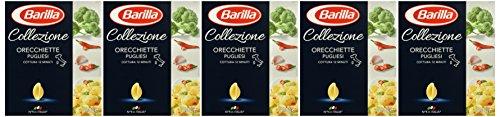 Barilla Pasta Nudeln La Collezione Orecchiette Pugliesi, 5er Pack (5 x 500 g)