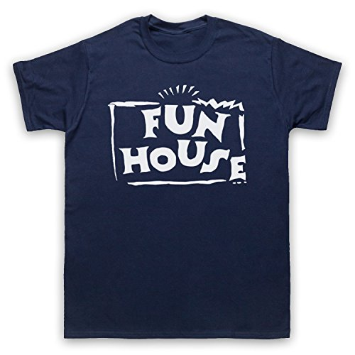 Inspiriert durch Fun House Contestant TV Show Unofficial Herren T-Shirt Ultramarinblau