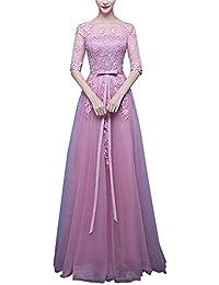 Mujer Playa Vestidos De Novia Largo Vestido De Boda Vestido Con Arco Cintura De Dama De