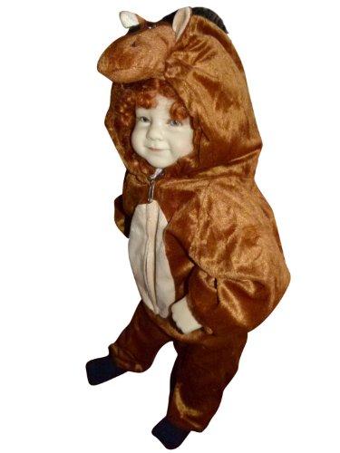Seruna An71/00 Gr. 68-74 Pferd Kostüm für Fasching und Karneval, Kostüme für Baby Babies Kleinkinder, Faschingskostüm, Karnevalkostüm