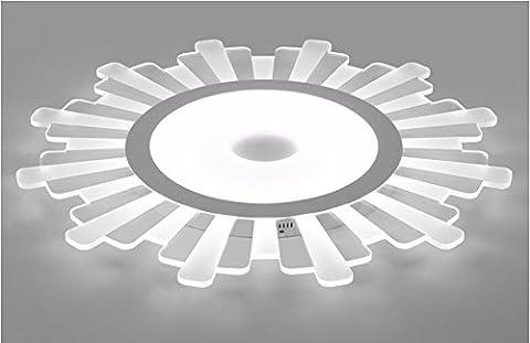 FGSGZ Le Tournesol Éclairage De Plafond Conduit Ultra Fin L'Acrylique Creative Lampes Enfants La Lumière Blanche 35*4Cm