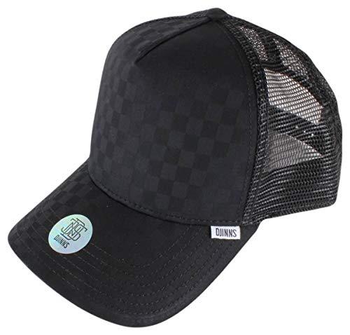 Djinns Trucker Cap TIE Check Black Schwarz, Size:ONE Size