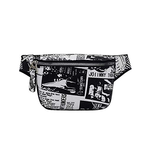 DQANIU  Neue Tasche, Heiß !!! Männer/Frauen Mode Unisex Druck Die Union Flag Leinwand Umhängetaschen Cartoon Brust Taschen