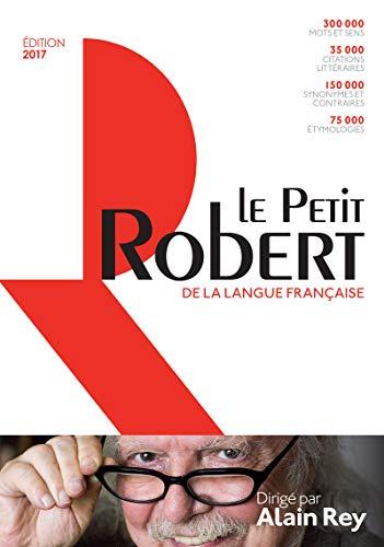 Dictionnaire Le Petit Robert de la langue française - Grand format