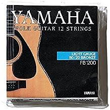 Yamaha FB1200 - Juego de cuerdas para guitarra acústica