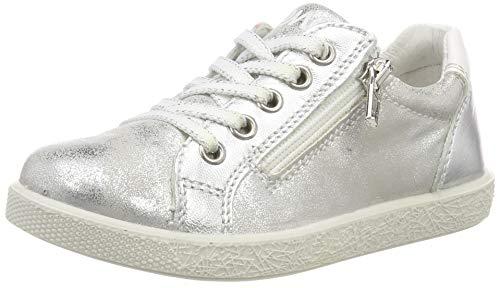 Silber Baby-mädchen (PRIMIGI Baby Mädchen PHO 33822 Sneaker, Silber Argento 3382233, 27 EU)