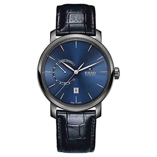 Rado Diamaster XL automatico blu quadrante mens orologio R14138206