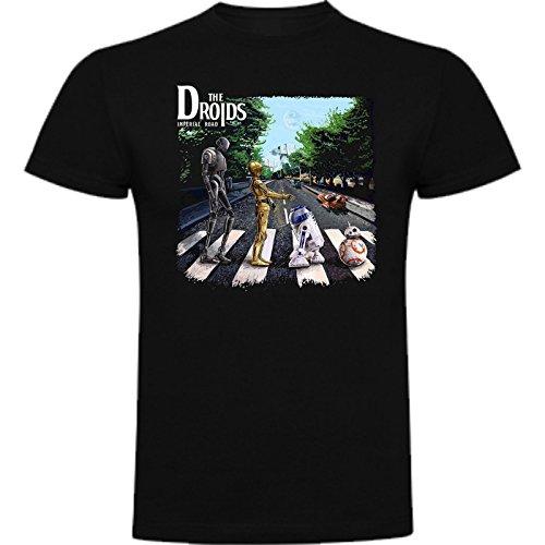 The Fan Tee Camiseta de Hombre Star Wars Dark Vader Han Solo Fuerza Yoda Leia