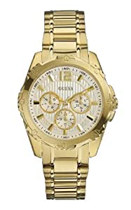 Guess Damen-Armbanduhr Analog Quarz Edelstahl W0232L2