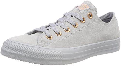 Converse Unisex-Erwachsene CTAS OX Wolf Grey/Blue CHILL Sneaker Grau 097, 38 EU