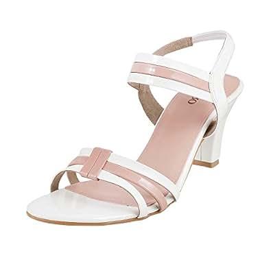1111bf2d8e0 Metro Women White Synthetic Sandals (40-1805) 40-1805-16-WHITE  Buy ...