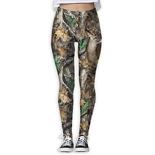 483bd6d66436c Nicegift Realtree Camo Wallpapers Women Fitness Yoga Leggings Sport Yoga  Pants Small