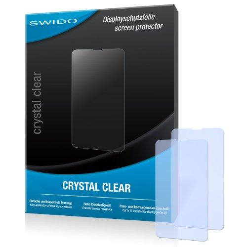 SWIDO Bildschirmschutz für Nokia Lumia 635 [4 Stück] Kristall-Klar, Hoher Härtegrad, Schutz vor Öl, Staub & Kratzer/Schutzfolie, Bildschirmschutzfolie, Panzerglas Folie