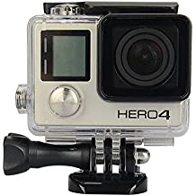 MOUTIK Protective Waterproof Diving Housing Waterproof Case Cover for Gopro Here 4