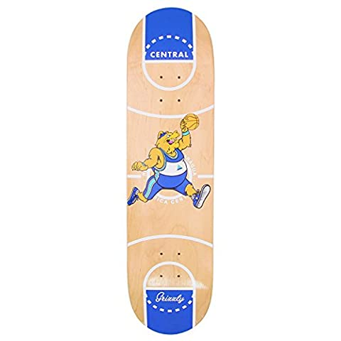 Grizzly X Full Court Skateboard Deck - 8