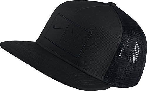 Nike True Novelty–Casquette de golf pour homme, taille unique Taille unique negro (010)