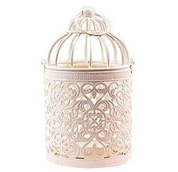 westeng Kerzenhalter Vogelkäfig Metall Teelicht Laternen Home Hochzeit Vintage Tisch Dekoration 8x 14cm