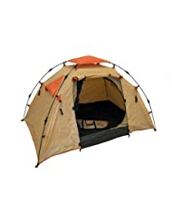 Genji Sports Instant Camping Tent (3 Person), Large, Light Brown by Genji Sports