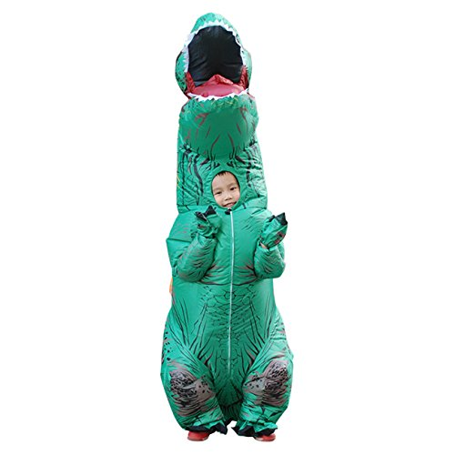 THEE Halloween Inflatable T-Rex Dinosaur Blow Up Dress Up Simulation Cosplay Costume (Kostüme Trex)