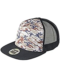 Myrtle Beach Urban cap with elaborate camouflage details (camouflage/black)