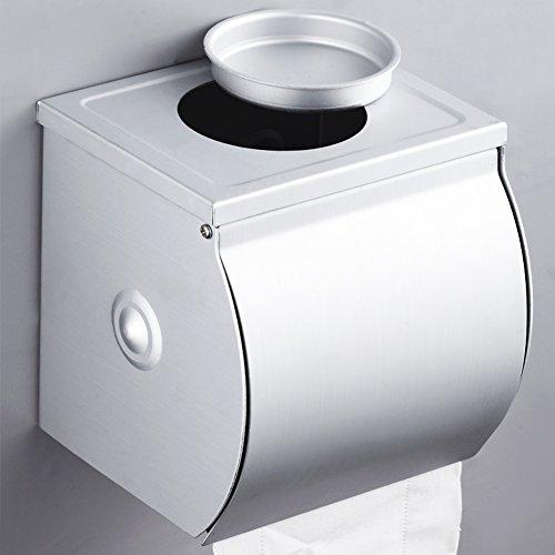 Aluminium-Space-Toilettenpapier-Box/Wasserdichte Toilettenrollenmagazin/Toilettenpapier-Boxen/Toilettenpapierhalter/Handschale