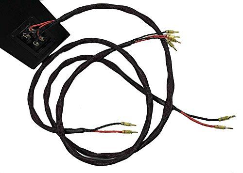 0b529426b756c7 Coppia cavi di potenza BI-WIRING per diffusori acustici Hi-Fi, twistati,