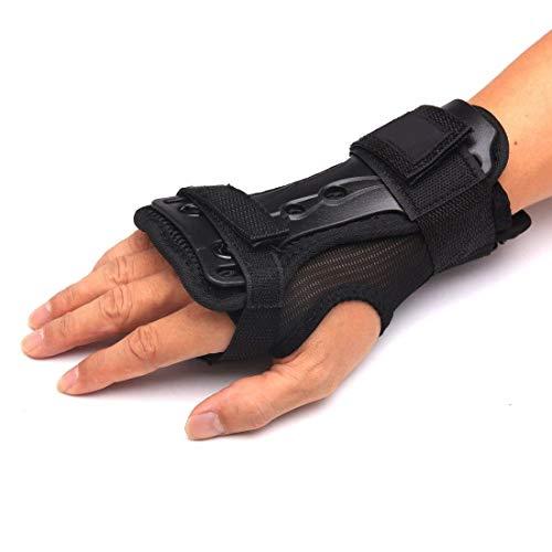 Yundxi Unisex Ski Snowboard Protektoren Handschuh Handgelenk Unterstützung Handgelenkschoner Handschützer L