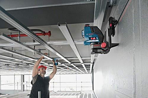 Bosch Professional Laser Empfänger LR1 (Zubehör für Rotationslaser GRL 400 H, GRL 300 HV, im Karton)