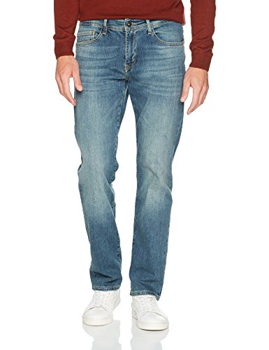 Cross Jeans Herren Loose Fit Jeans Antonio Blau (Mid Blue 092), W36/L36 (Relaxed Denim Fit)