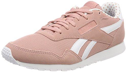 Cl Nylon Slim TXT Lux, Zapatillas de Deporte para Mujer, Rosa (Chalk Pink/White/Gum 000), 39 EU Reebok