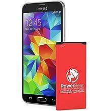 Batteria PowerBear Samsung Galaxy S5 | 2,800 mAh Batteria Li-Ion per il Galaxy S5 [I9600, G900F , G900V (Verizon), G900T (Tmobile), G900A (AT&T), G900P (Sprint)] | Batteria Sostitutiva S5 [24 Mesi Di Garanzia]