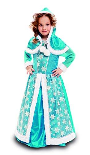 My Other Me - Disfraz de Reina de Hielo, para niños de 10-12 años, color azul (Viving Costumes MOM02307)