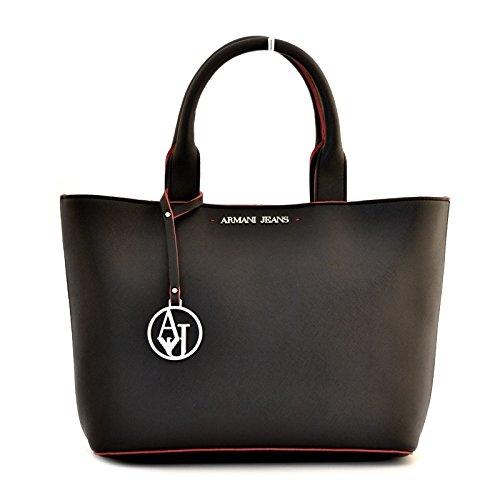 Armani Jeans Borsa Damen Handtasche Schwarz