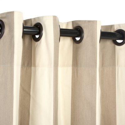 Sunbrella Outdoor Vorhang mit Ösen–Regency Sand–127x 243,8cm