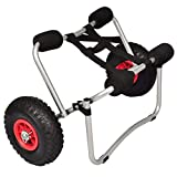 vidaXL Kayak Trolley Aluminium Boat Dolly Trailer Tote Transport Cart Wheel