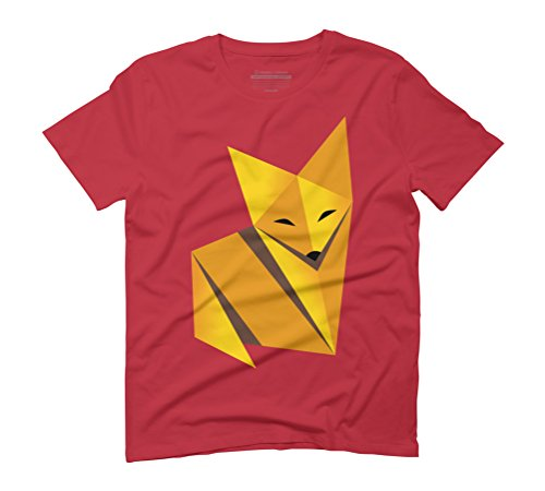 Paper Fox Men's Graphic T-Shirt - Design By Humans Rot