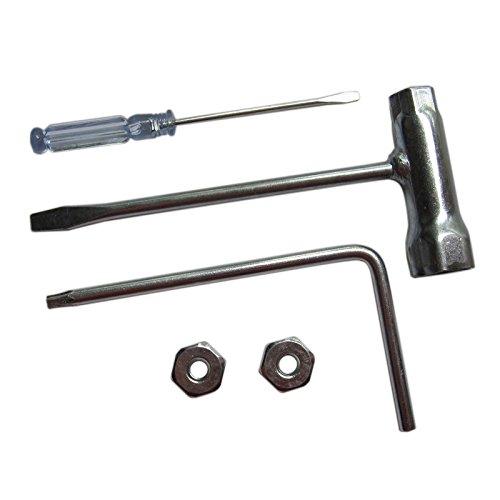 AM 13 x 19 mm Zündkerzenschlüssel Kombischlüssel Torx 27 Vergaser Schraubenzieher passend für Stihl MS HT HTE FC Motorsägen Kettensäge 1129 890 3401