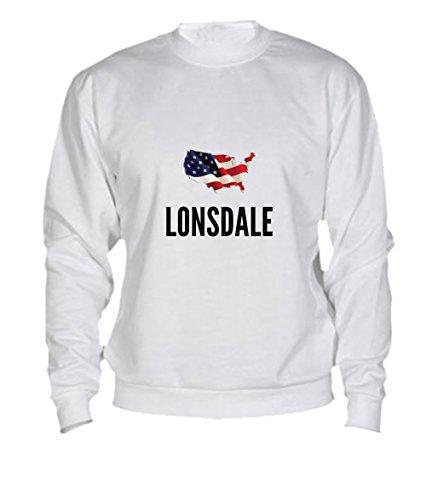 Felpa Lonsdale city White
