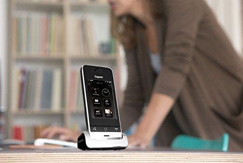 Gigaset SL910 Telefon - Schnurlostelefon / Mobilteil - mit Farbdisplay / Design Telefon / schnurloses Telefon - Freisprechen - schwarz - 13