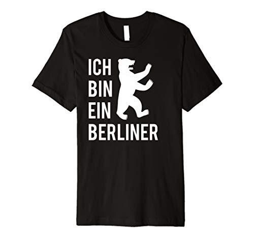 Ich bin ein Berliner T-Shirt Berliner Bär