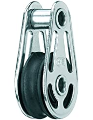 Sprenger Poulie palier lisse 1 réa et axe creux pour cordage Ø 6mm