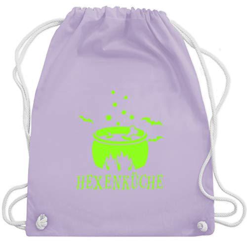 Halloween - Hexenküche - Unisize - Pastell Lila - WM110 - Turnbeutel & Gym Bag (Machen Kostüm Halloween Hexe)