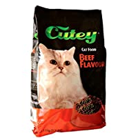 Cutey Cat Food - Beef Flavour, 1.5kg