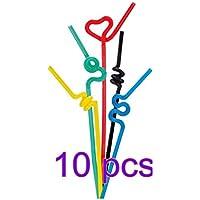 Pasabideak - Pajitas (10 Unidades, Varios Colores)