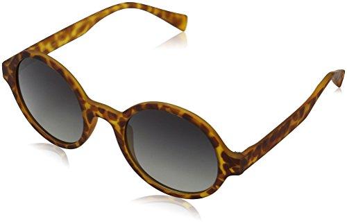 MSTRDS Unisex Retro Funk Sonnenbrille, Mehrfarbig (havanna/grey 5152), Herstellergröße: one Size