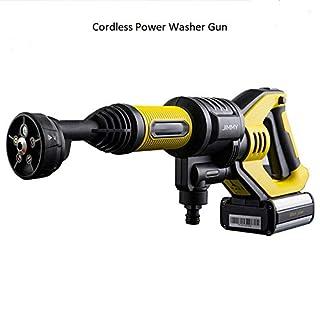 LEXY JIMMY JW31 Hochdruckreiniger Autoreifenreiniger Drahtlose Handspülpistolen-Reinigungswerkzeuge 2.2MPa Wasserdruck 180L / H Wasserdurchfluss Selbstansaugender Wasserhahn