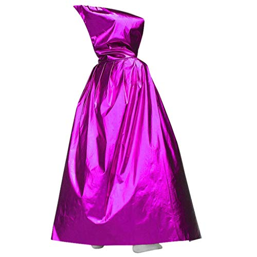 Purple: Hergon Party Easter Magic Long Vampire Hooded Cloak, Cosplay Costume Ca
