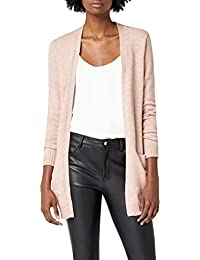 Vila Damen Viril L/S Open Knit Cardigan-noos Strickjacke