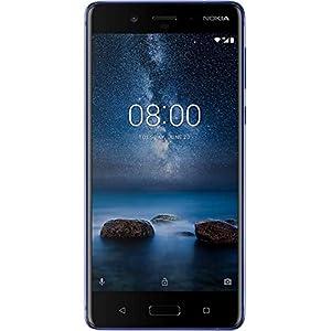 Nokia 8 4 GB UK SIM-Free Smartphone - Polished Blue